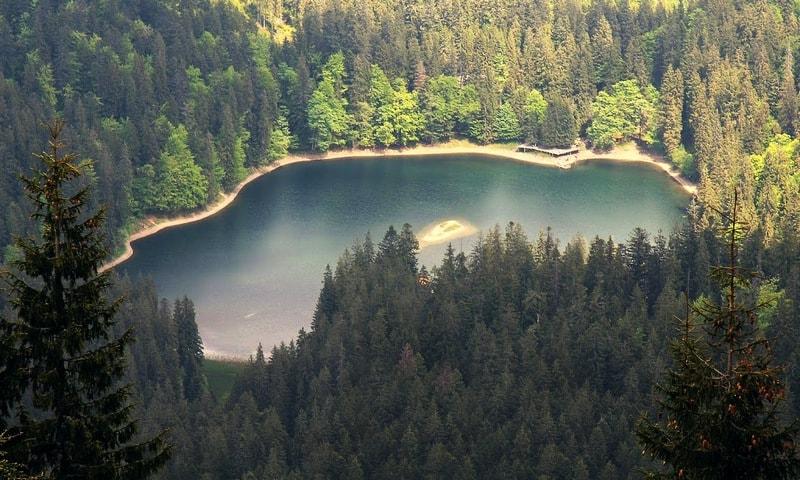 Озеро Синевир - Морське Око