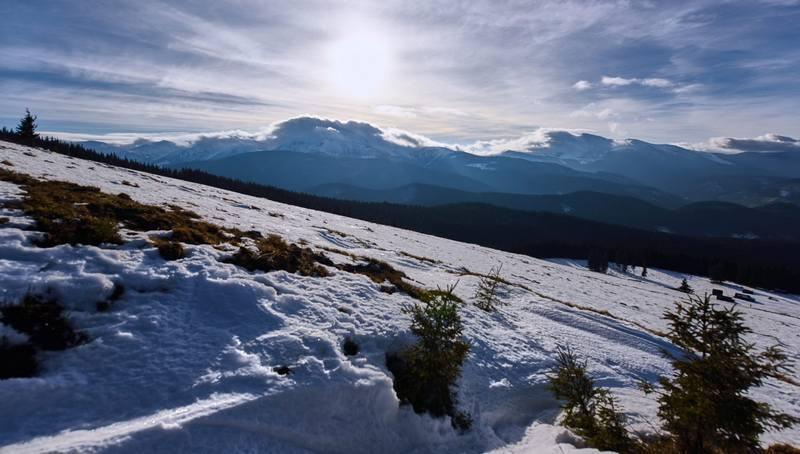 Походні підсумки січня - Говерла