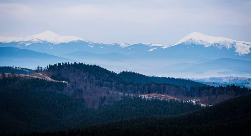 Зимовий похід по Карпатах - Говерла та Петрос