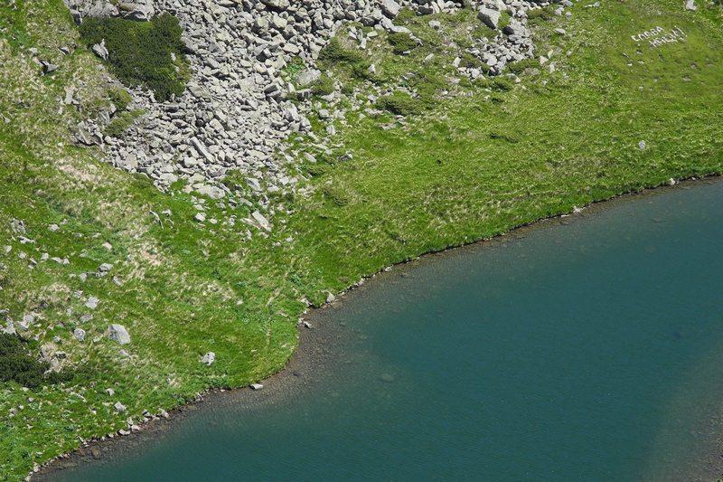 Озеро в Карпатах