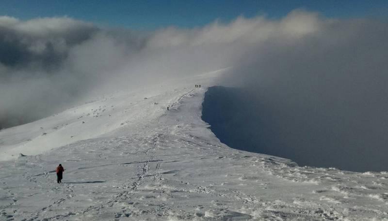 Туман над Карпатами