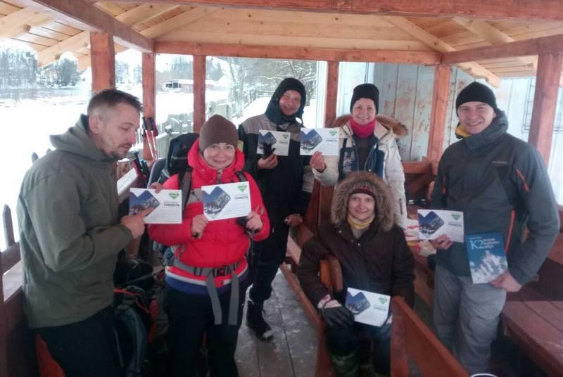 Учасники отримали сертифікати після сходження