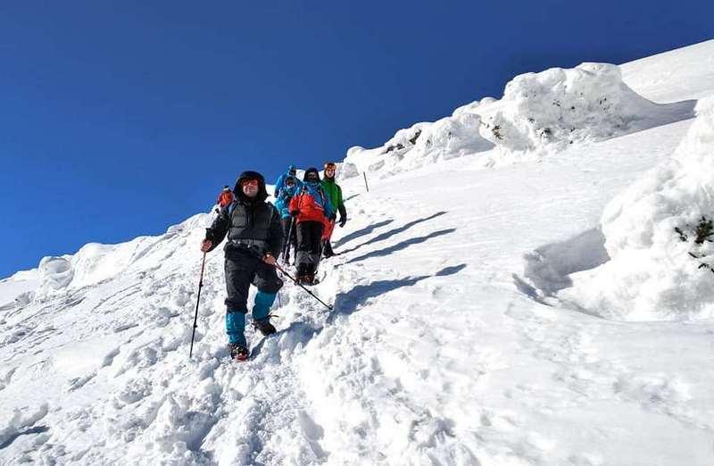 Сходження на Говерлу взимку